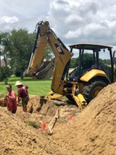 Digging - Rob's Septic Tank in Central Florida